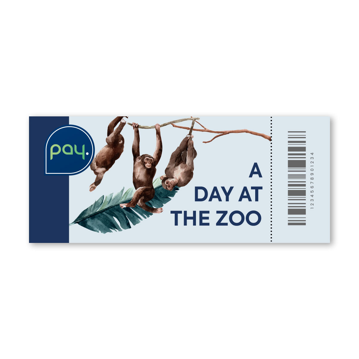 PAY. Ticket for the Zoo